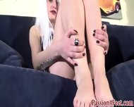 Cute Italian Feet Rubbed - scene 8
