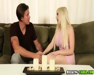 Tugging Masseuse Swallows - scene 2
