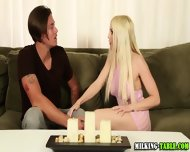 Tugging Masseuse Swallows - scene 3