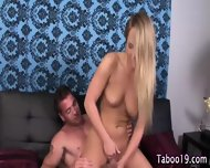 Step Teen Blonde Cumshot - scene 11