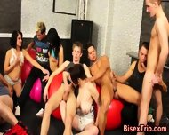Sluts Suck In Group Sex - scene 11