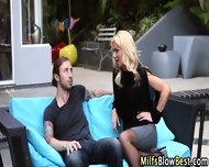 Outdoor Suck Milf Swallow - scene 1