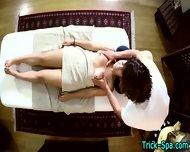 Latina Teen Babe Massage - scene 10