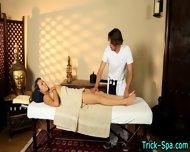 Latina Teen Babe Massage - scene 12