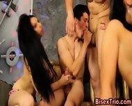 Bisexual Hunks Ride Cock - scene 4