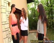 Outdoor Glamor Lesbo Piss - scene 3