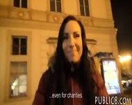Perky Tits Eurobabe Screwed Up In Public For A Chuk Of Money - scene 3