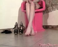 Euro Stocking Feet Play - scene 11