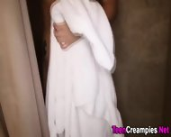 Showered Teen Creampie - scene 5