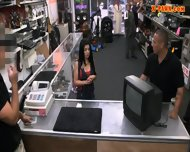 Pervert Pawnkeeper Fucking A Hot Cuban Chick In The Pawnshop - scene 3