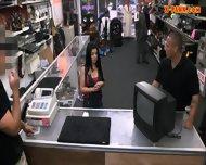 Pervert Pawnkeeper Fucking A Hot Cuban Chick In The Pawnshop - scene 3
