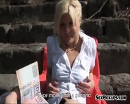 Hot Eurobabe Kitty Rich Facialed For A Chunk Of Money - scene 2