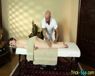 Hottie Babe Oily Rub Down - scene 1