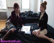 Mormon Teen Dildo Fucked - scene 1