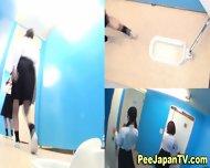 Japanese Teens Pissing - scene 5
