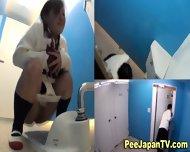 Japanese Teens Pissing - scene 6