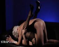 Teenie Babe Fucked By Two Horny Guys At Hotel - scene 12