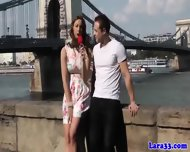 Pulled Young Guy Drills Posh Euro Cougar - scene 1