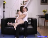 Pulled Young Guy Drills Posh Euro Cougar - scene 3