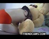 Fucking A Teddy Bear Sex Chat Rooms T R E N D C A M S.com - scene 8