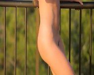 Killer Ass Masturbate On The Balcony - scene 9