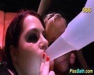Bitch Pisses Into Mouth - scene 10