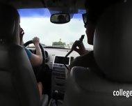 Horny Women Sucking Dick In Car - scene 2