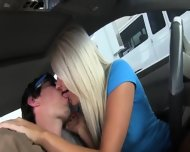 Horny Women Sucking Dick In Car - scene 3