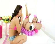 Unbelievable Lesbians Butthole Fisting - scene 5