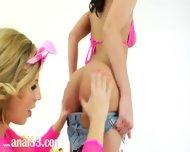 Unbelievable Lesbians Butthole Fisting - scene 7