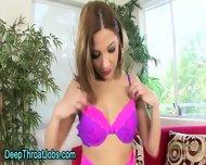 Tiny Tits Ho Throats Cock - scene 1