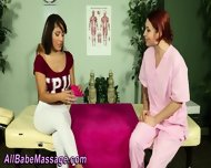 Lesbian Gets Oil Massage - scene 1