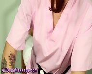 Lesbian Gets Oil Massage - scene 11