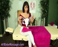 Lesbian Gets Oil Massage - scene 2