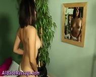 Lesbian Gets Oil Massage - scene 5