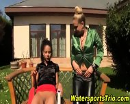 Glam Urine Lovers Outside - scene 3