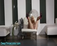 Facialized Blond Throater - scene 7