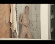 Reaching Orgasm In The Fetching Shower - scene 11