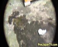 Asian Pee Slut Urinates - scene 4