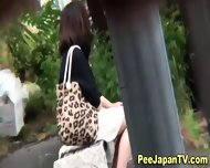 Asian Pee Slut Urinates - scene 7