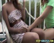 Ethnic Lez Step Sisters - scene 3