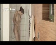 Reaching Orgasm In The Unbelievable Shower - scene 1