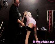 Fetish Shemale Bondage - scene 1