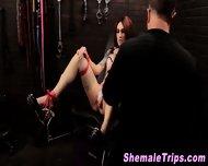Fetish Shemale Bondage - scene 10