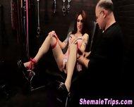 Fetish Shemale Bondage - scene 11