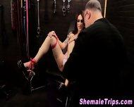 Fetish Shemale Bondage - scene 12