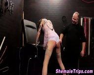 Fetish Shemale Bondage - scene 2