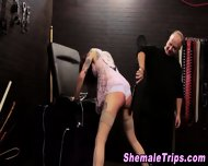 Fetish Shemale Bondage - scene 3