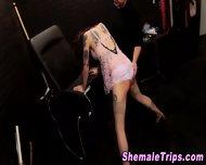 Fetish Shemale Bondage - scene 5