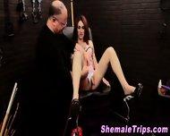 Fetish Shemale Bondage - scene 7